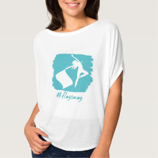 Cute Color Guard #flagswag T-Shirt