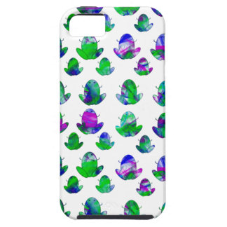 Cute Colored Frogs iPhone 5 Cover