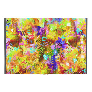 "Cute colorful abstract paint iPad pro 9.7"" case"