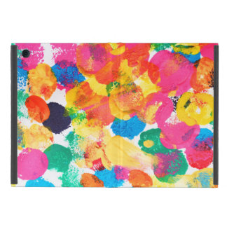 Cute colorful abstract painting iPad mini case
