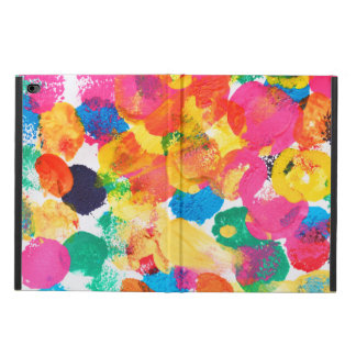 Cute colorful abstract painting powis iPad air 2 case