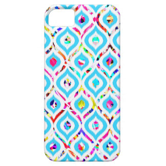 Cute colorful abstract zigzag patterns iPhone 5 cover