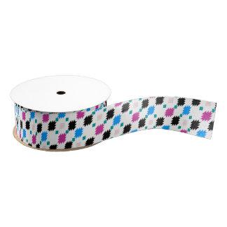 Cute colorful aztec pattern grosgrain ribbon