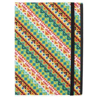 "Cute colorful aztec patterns design iPad pro 12.9"" case"