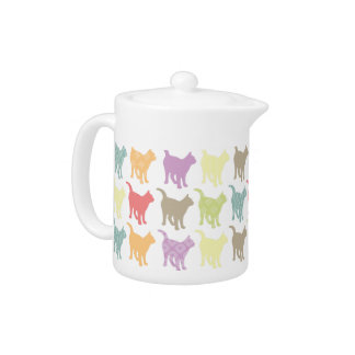Cute Colorful Cats Pattern