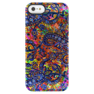 Cute colorful chakra pattern clear iPhone SE/5/5s case