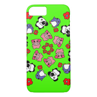 cute colorful character i phone case