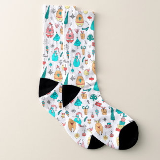 Cute Colorful Christmas Animals Pattern 1