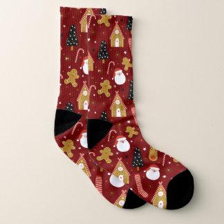 Cute Colorful Christmas Symbols Pattern 1