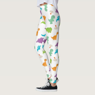 Cute Colorful DINOSAURS Leggings