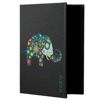 Cute Colorful Floral Elephant & Dots Pattern Powis iPad Air 2 Case