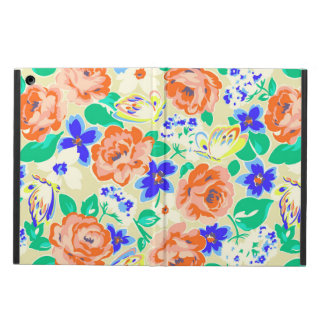Cute colorful floral pattern case for iPad air