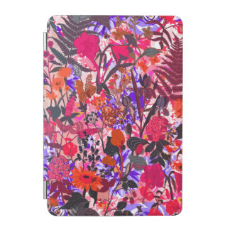 Cute colorful girley vintage flowers mixed iPad mini cover