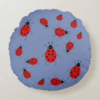 cute pillow clipart. cute colorful ladybugs clip art round pillow clipart o