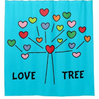 Cute Colorful LOVE Hearts TREE Design