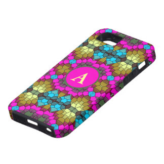cute colorful mosaic iPhone 5 case