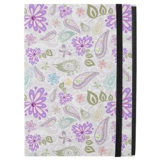 "Cute colorful pastel paisley patterns iPad pro 12.9"" case"