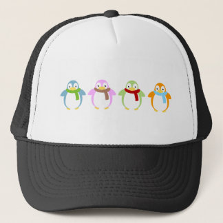 Cute Colorful Penguin Trucker Hat