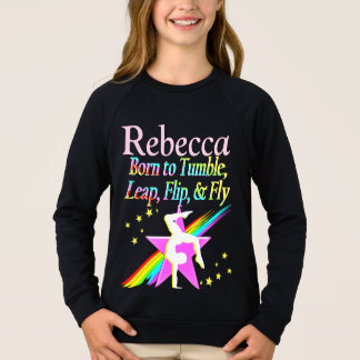 CUTE COLORFUL PERSONALIZED SWEATSHIRT
