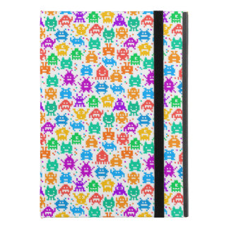 """Cute colorful pixelated monsters patterns iPad pro 9.7"""" case"""