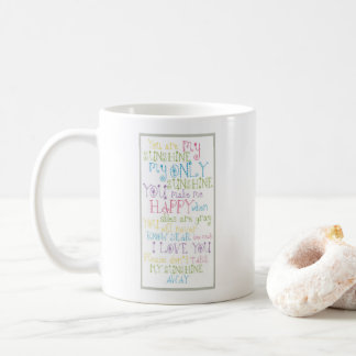 Cute Colorful Rhymed Text Design Mug