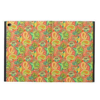 Cute colorful seamless paisley pattern powis iPad air 2 case