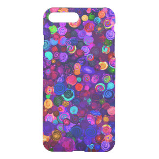 Cute colorful spiral cosmos patterns iPhone 8 plus/7 plus case