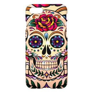 Cute Colorful Sugar Skull iPhone 8/7 Case