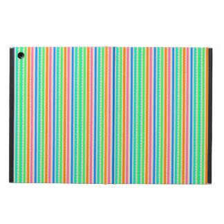 Cute colorful summer stripes iPad air covers