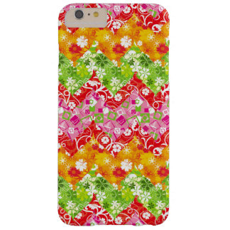 Cute colorful summer zigzag pattern barely there iPhone 6 plus case