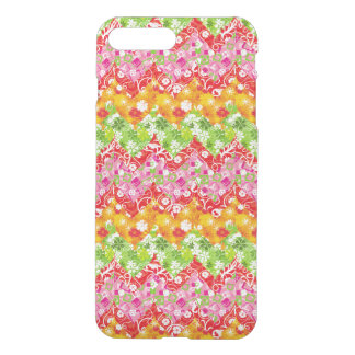Cute colorful summer zigzag pattern iPhone 8 plus/7 plus case