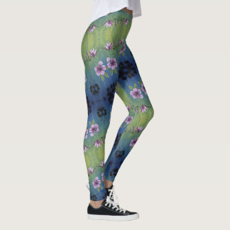 Cute & Colorful - Tropical Flower Leggings