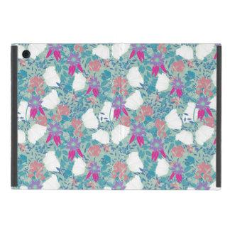 Cute colorful vintage floral pattern iPad mini case