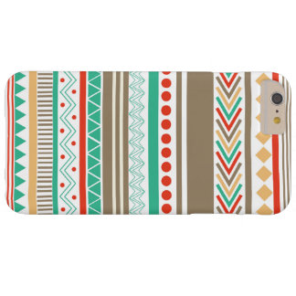 Cute Coloured tribal shapes iPhone 6/6s Plus case