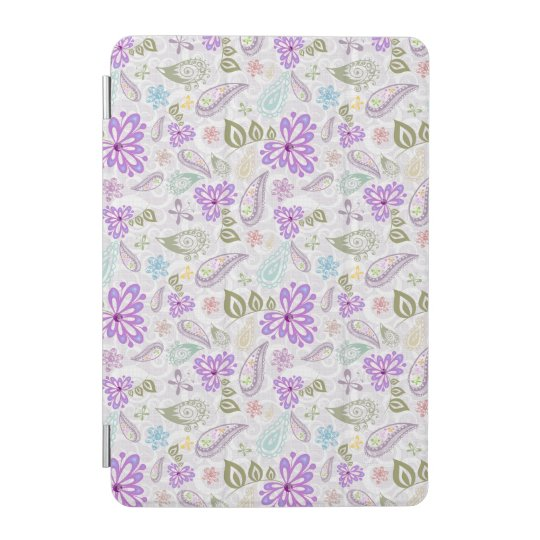 Cute colourful pastel paisley patterns iPad mini cover
