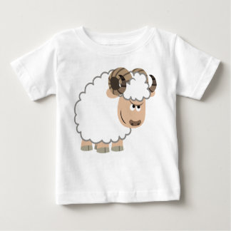 Cute Confident Cartoon Ram Baby T-Shirt