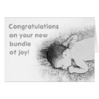 Cute Congratulations on New Baby Generic Baby Card