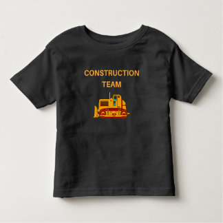 Cute Construction Team, Earthmover Novelty T-Shirt