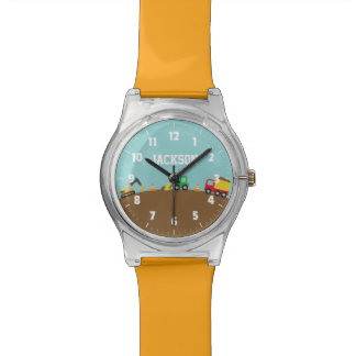 Cute Construction Vehicles For Boys Watches