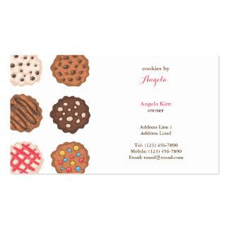 Cute Cookies Cookie Business Bakery Business Card