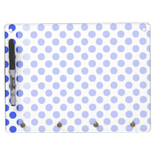 Cute, cool,  fun blue polka dots dry erase board. Dry-Erase whiteboards