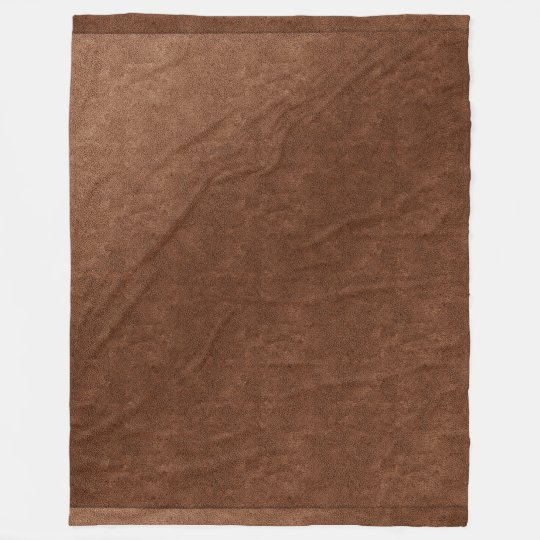 Cute Copper Look Textured Blanket