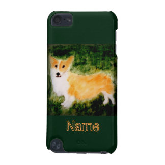 Cute Corgi Dog Art iPod Touch (5th Generation) Covers
