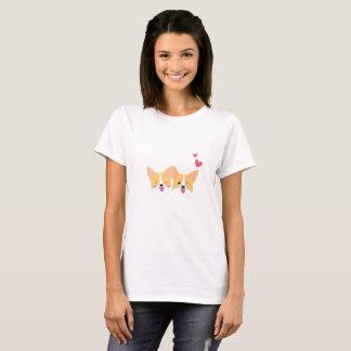 Cute Corgi Dog Woman T-shirt