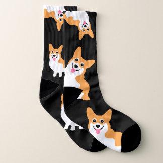 Cute Corgi Socks 1