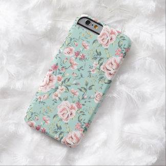Cute Cottage Floral Pattern Barely There iPhone 6 Case