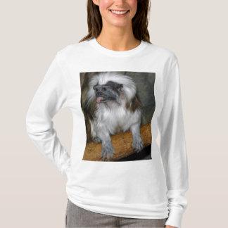 Cute Cotton-top Tamarin T-Shirt
