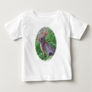 Cute Cottontail Bunny Rabbit Baby T-Shirt