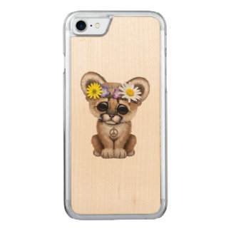 Cute Cougar Cub Hippie Carved iPhone 8/7 Case