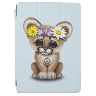 Cute Cougar Cub Hippie iPad Air Cover